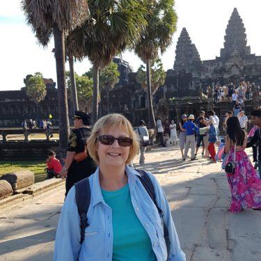Sheila in Cambodia